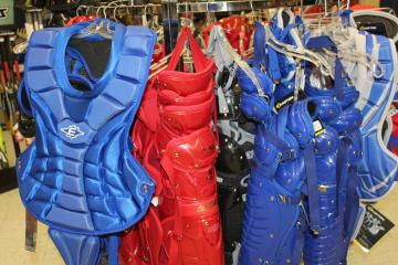 Blue & Red Catchers Gear