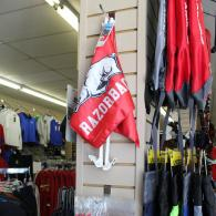 Razorback Flag and Tablecloth